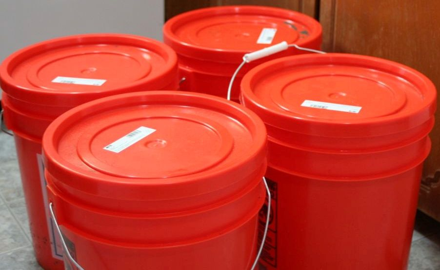 What Is Food For Health Storage Buckets