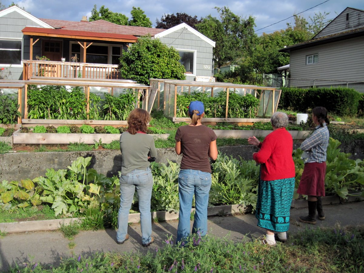 Produce Thousands Of Pounds Of Fresh Organic Food On